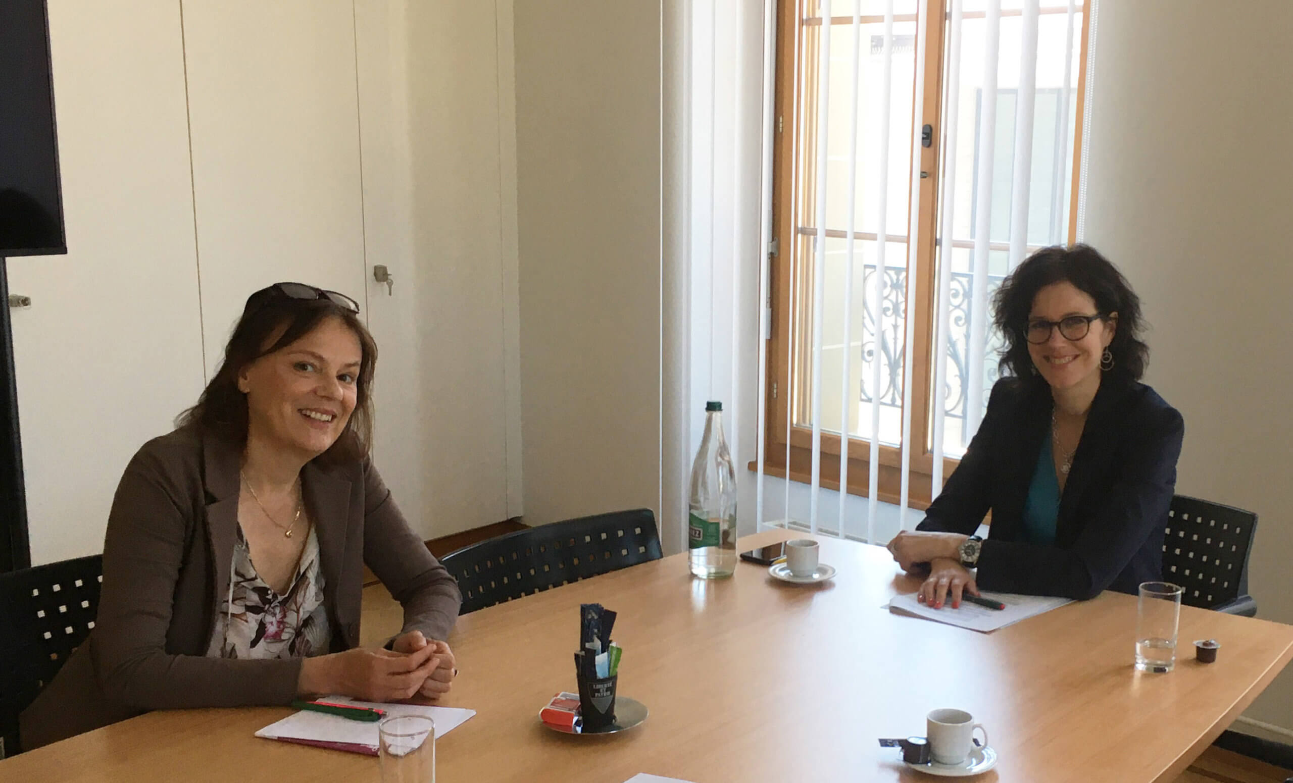 Corinne Bloch et Christelle Luisier Brodard